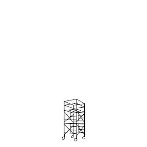 ローリングタワー 2段セット