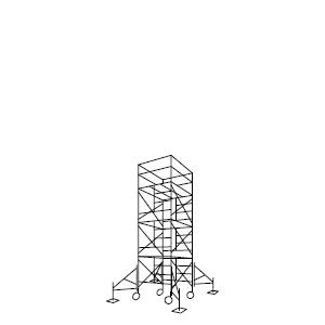 ローリングタワー 3段セット