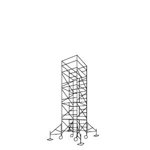 ローリングタワー 4段セット