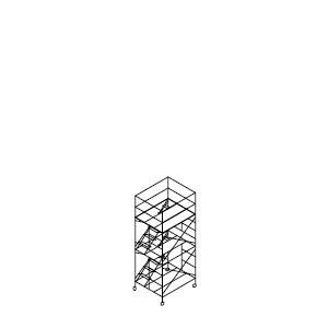 ローリングタワー内階段 2段セット
