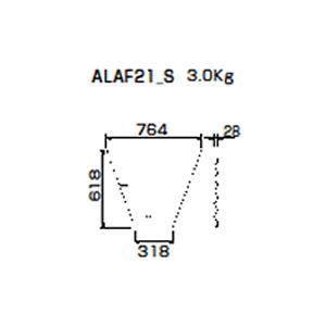朝顔隅FRP製万能板  ALAF21_S