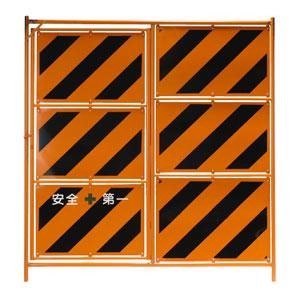 フェンス用ドア1800 全面鉄板