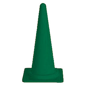 カラーコーン700 緑