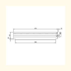 つま先板L型アルミ製FBAL−09