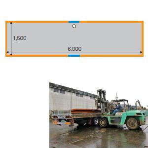 敷鉄板 22x5x20