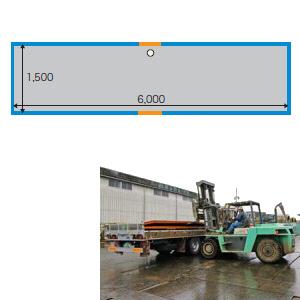 敷鉄板 25x5x20