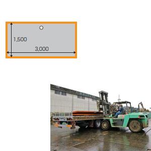 敷鉄板 22x5x10