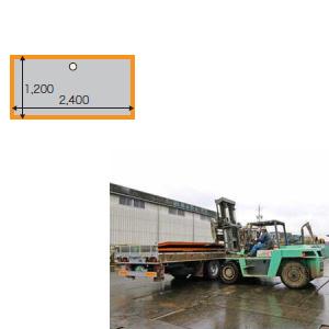 敷鉄板 22x4x8