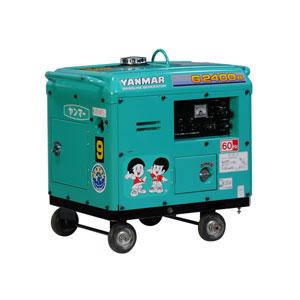 発電機2.4KVA防音 ガソリン