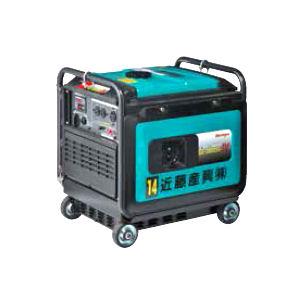 発電機3.8KVA防音インバータガソリン