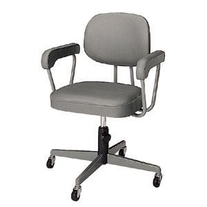 両肘付回転椅子  CR4
