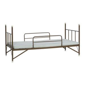 パイプ製一段ベッド