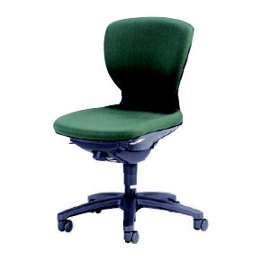 回転椅子CR−G250 布緑HP25