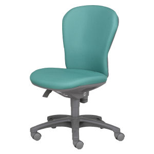 回転椅子CR−G200 布緑HS24