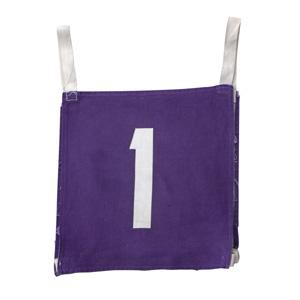 ゼッケン 紫