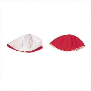 運動帽子 赤白
