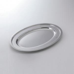 皿楕円型金属製 18吋