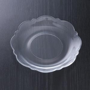 皿銘々皿硝子製 16径