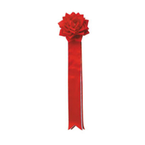 リボンバラ 赤 14(販売)