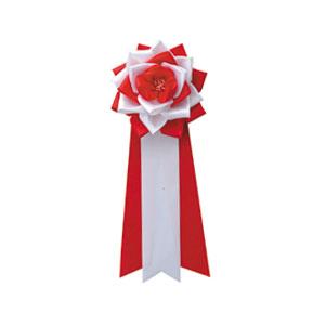 リボンバラ胸用 紅白10(販売)