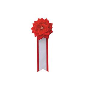 リボンバラ胸用 赤  8(販売)
