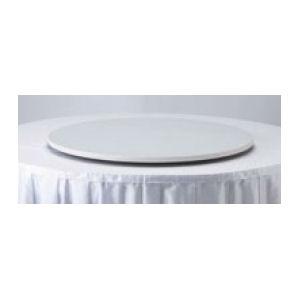 ターンテーブル天板 110径 白