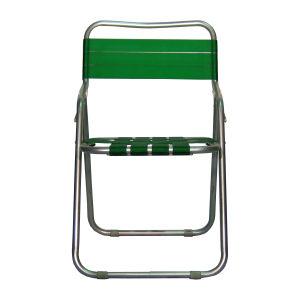 ガーデン椅子 パイプ製 緑