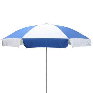 ビーチパラソル 190径 青白