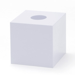 抽選箱40・40・40 アクリル製 白
