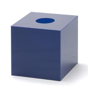抽選箱40・40・40 アクリル製 青