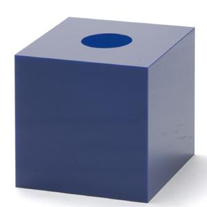 抽選箱45・45・45 アクリル製 青