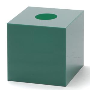 抽選箱45・45・45 アクリル製 緑