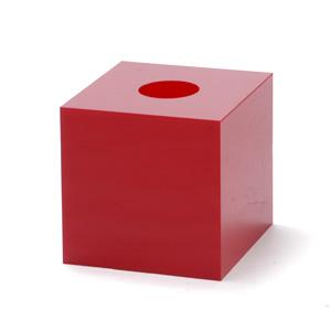 抽選箱30・30・30 アクリル製 赤