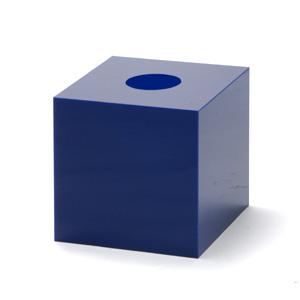 抽選箱30・30・30 アクリル製 青