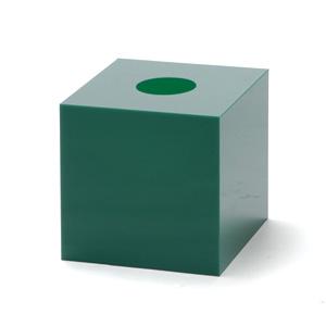 抽選箱30・30・30 アクリル製 緑