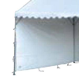 テント側幕 1x6 白