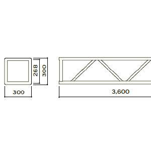 ステージシステム角トラス360