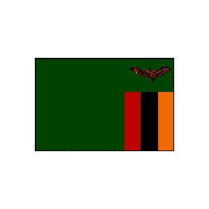 国旗 90 ザンビア