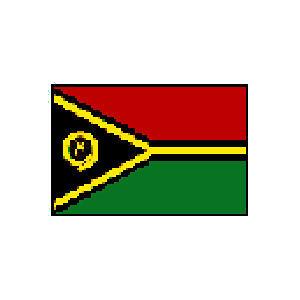 国旗 90 バヌアツ