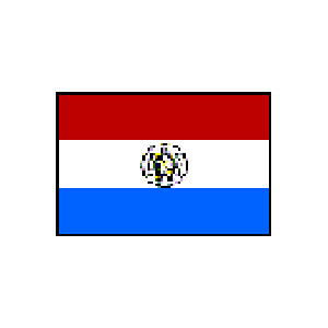 国旗 90 パラグアイ