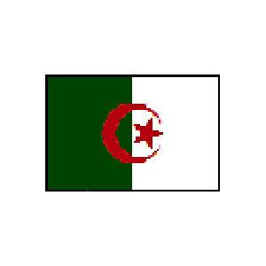 国旗120 アルジェリア