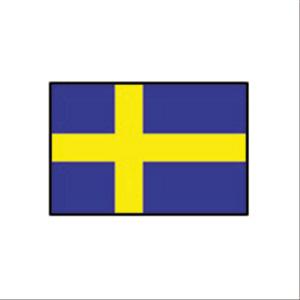 国旗120 スウェーデン