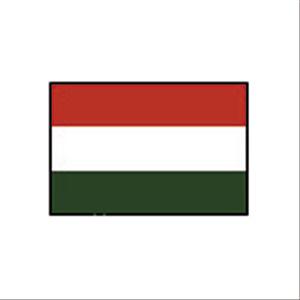 国旗120 ハンガリー