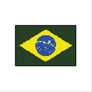 国旗120 ブラジル