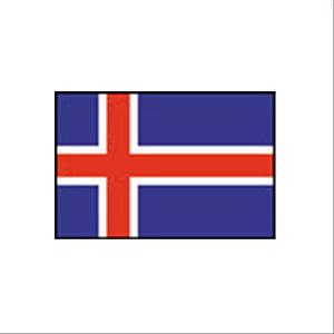 卓上国旗 アイスランド