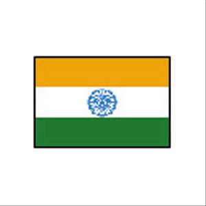 卓上国旗 インド