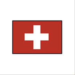 卓上国旗 スイス