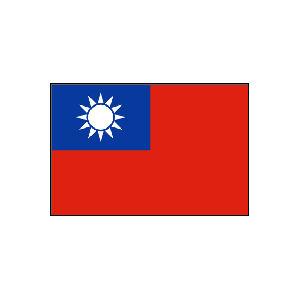 卓上国旗 台湾
