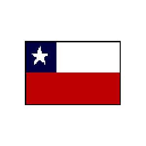 卓上国旗 チリ