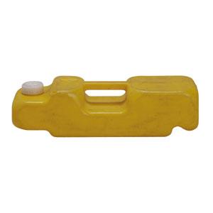 A型バリケード注水オモリ黄